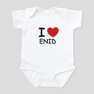 I love Enid Infant Bodysuit