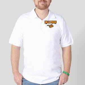 Halloween He's Mine Polo Shirt