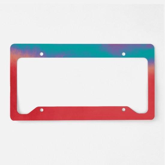 Unique Harmony License Plate Holder