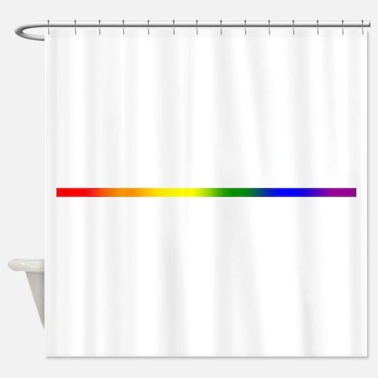 PRIDE STRIPE Shower Curtain