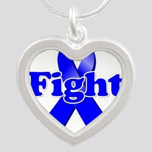 Blue Ribbon Fight Necklaces