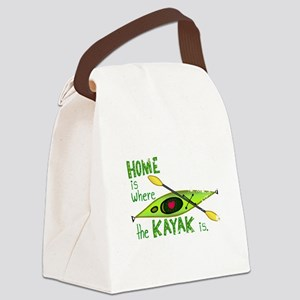 2-homekayakdist Canvas Lunch Bag