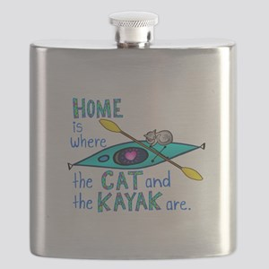 2-homekayakcatcolor2 Flask