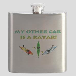 myothercarbumper3kayaks Flask
