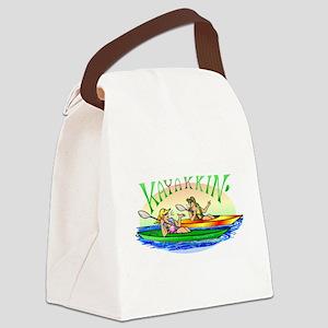 3-yakyakB Canvas Lunch Bag