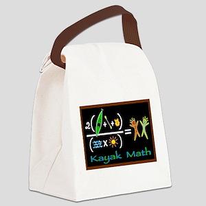 blackboardmath Canvas Lunch Bag
