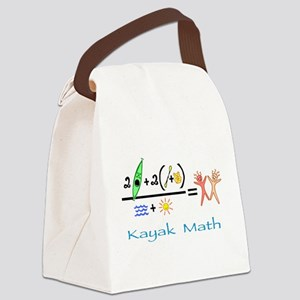 kayakmath16 Canvas Lunch Bag