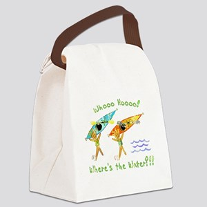 Where's the Water Canvas Lunch Bag