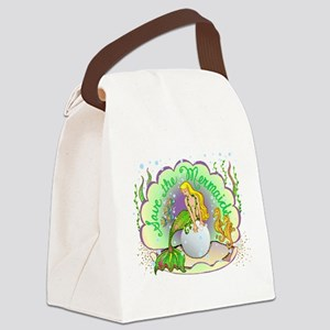 Pearlredonegold12x Canvas Lunch Bag