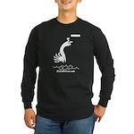 Kokopelli Diver Long Sleeve Dark T-Shirt