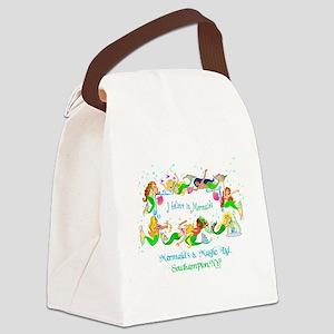IbelievenewD Canvas Lunch Bag