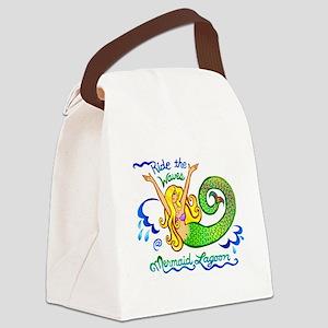 3-lagoon Canvas Lunch Bag