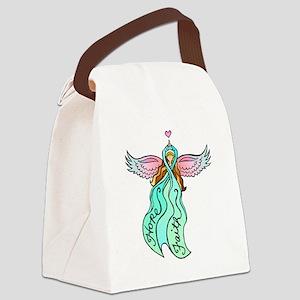 angeltattootransteal Canvas Lunch Bag