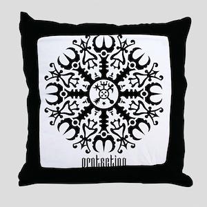 Helm of awe - Aegishjalmur No.1 Throw Pillow