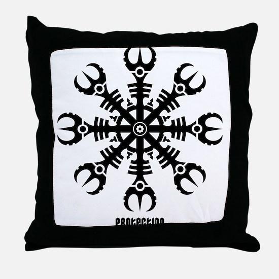 Helm of awe - Aegishjalmur No.2 Throw Pillow