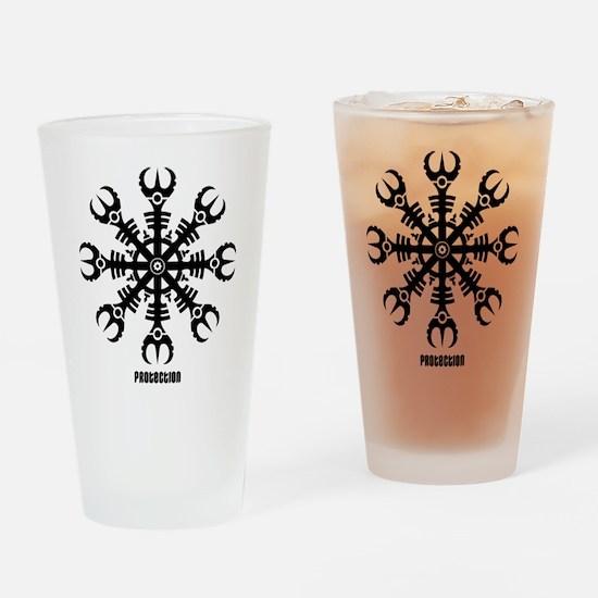 Helm of awe - Aegishjalmur No.2 Drinking Glass