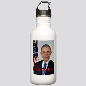 Dick Obama Water Bottle