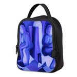 Reflections in Blue II Neoprene Lunch Bag