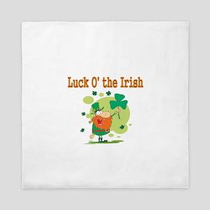 luck o the Irish 2 Queen Duvet