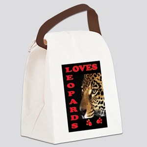 LEOPARD Canvas Lunch Bag
