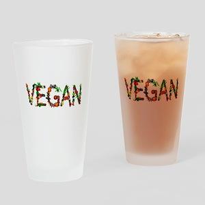 Vegan Vegetable Drinking Glass