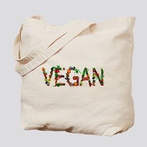 Vegan Vegetable Tote Bag