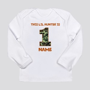 1st Birthday Hunting Long Sleeve T-Shirt