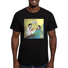 Dentist No Nos Men's Fitted T-Shirt (dark)