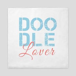 Doodle Lover Queen Duvet