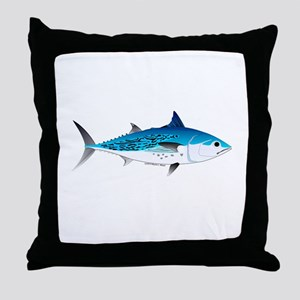 Little Tunny False Albacore Throw Pillow