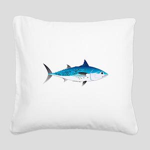 Little Tunny False Albacore Square Canvas Pillow