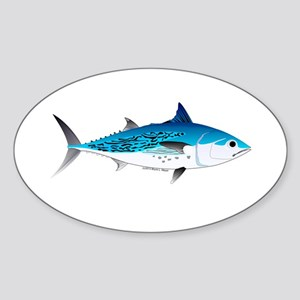 Little Tunny False Albacore Sticker (Oval)