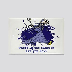 Where in the Dungeon are you now? Rectangle Magnet