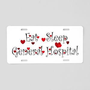 General Hospital heart eat sleep large Aluminum Li
