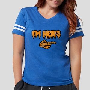 Halloween I'm Her's Womens Football Shirt