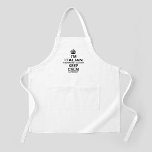 Keep Calm and Italian pride Apron