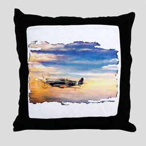 SPITFIRE VINTAGE Throw Pillow