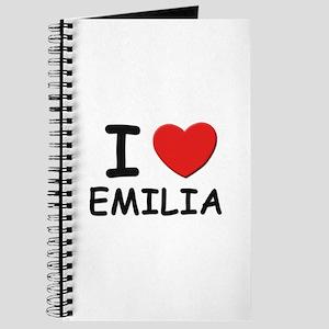 I love Emilia Journal