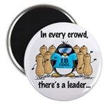 In Every Crowd Penguin Magnet