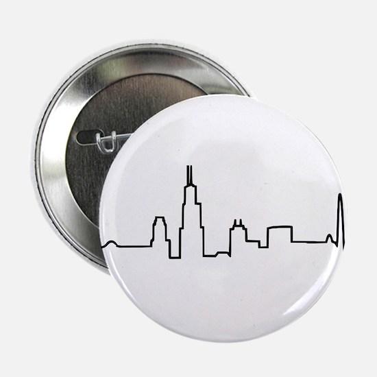 "Chicago Heartbeat (Heart) 2.25"" Button"
