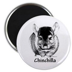 Chin Charcoal Magnet