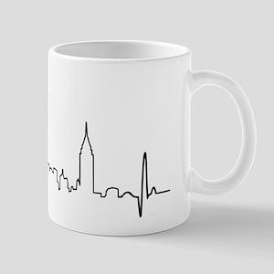 New York Heartbeat Mug