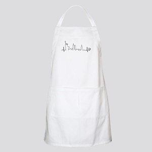 New York Heartbeat (Heart) Apron
