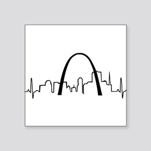 St. Louis Heartbeat Sticker
