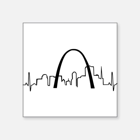 St. Louis Heartbeat Sticker
