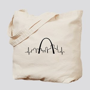 St. Louis Heartbeat Tote Bag