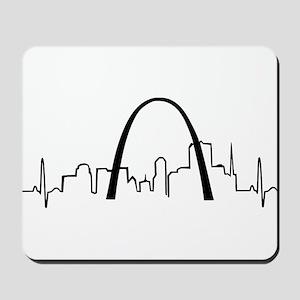 St. Louis Heartbeat Mousepad