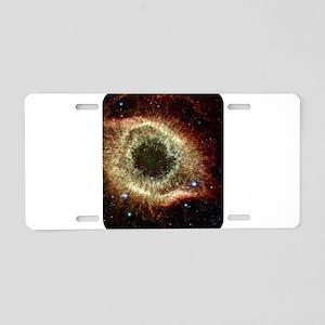 Space Aluminum License Plate