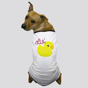 Lil Duck Pink Dog T-Shirt