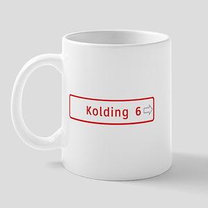 Roadmarker, Kolding - Denmark Mug
